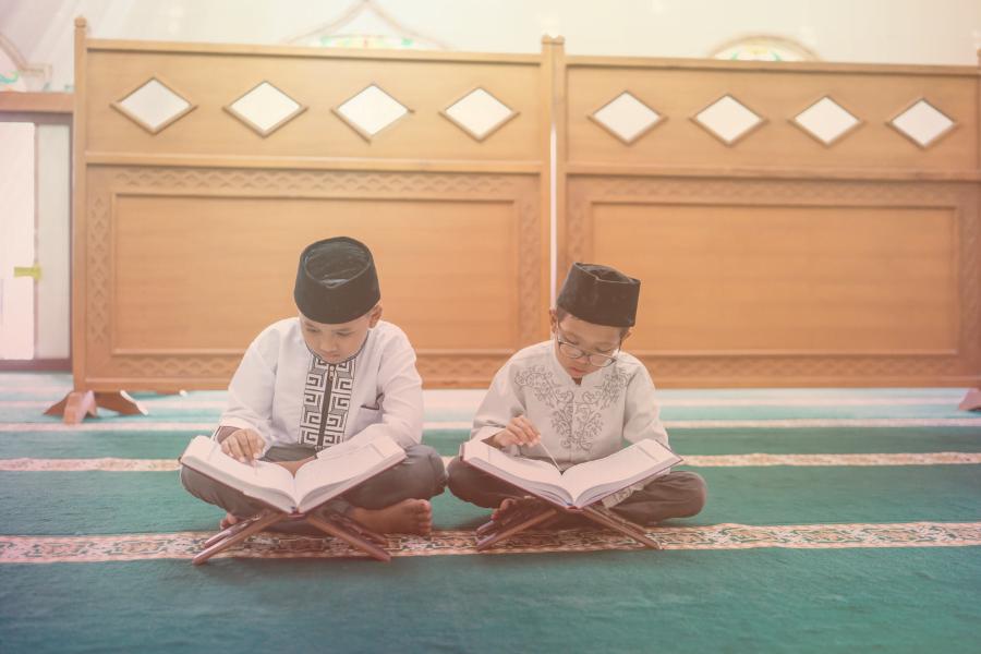Belajar hafazan Al Quran dan hafalan Juz Amma surah pendek